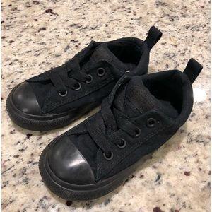 Black Converse Infant/Toddler